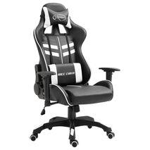 vidaXL Καρέκλα Gaming Λευκή από Συνθετικό Δέρμα