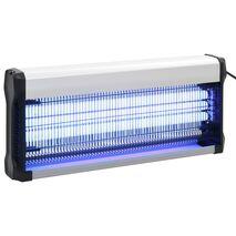 vidaXL Εντομοπαγίδα Ηλεκτρική 60 W Μαύρη από Αλουμίνιο και ABS