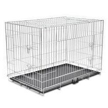 Κλουβί Σκύλου Πτυσσόμενο XXL Μεταλλικό