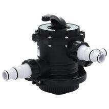 vidaXL Βαλβίδα Πολλαπλή για Φίλτρο Άμμου 6 Κατευθύνσεων 1,5'' από ABS