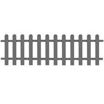 vidaXL Φράχτης Κήπου 200 x 60 εκ. από WPC