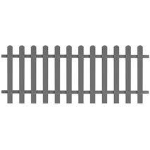 vidaXL Φράχτης Κήπου 200 x 80 εκ. από WPC