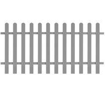 vidaXL Φράχτης Κήπου 200 x 100 εκ. από WPC