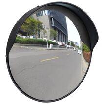 Καθρέφτης Ασφαλείας Κυρτός Εξωτερικού Χώρου Μαύρος 30 εκ. Πλαστικό PC
